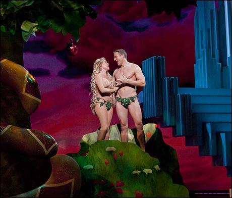 Billie Wildrick and Edward Watts in Scandalous