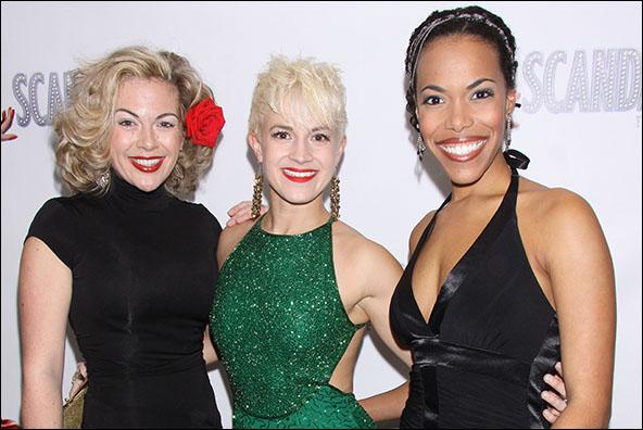 Billie Wildrick, Betsy Struxness and Erica Dorfler