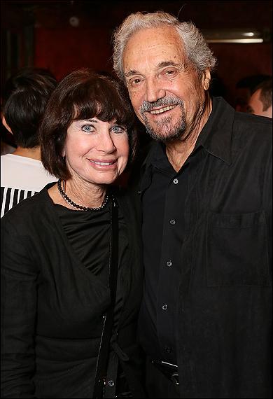 Judie Stein and Hal Linden
