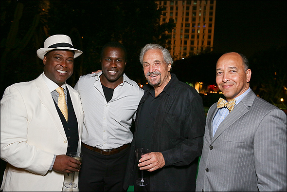 Trent Armand Kendall, Joshua Henry, Hal Linden and JC Montgomery