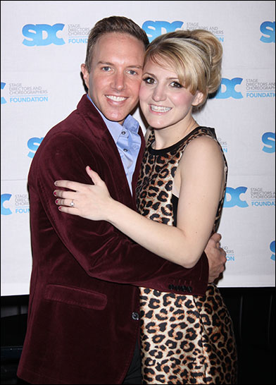 Paul Canaan and Annaleigh Ashford