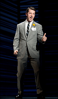 Sean Hayes in <i>Promises, Promises</i>.