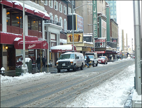 The theatres of 44th Street
