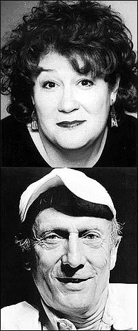 Margo Martindale and Tom Aldredge