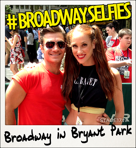 Former touring buddies Christopher Messina (Jersey Boys) and Kaleigh Cronin (Cabaret) reconnect on this beautiful day.