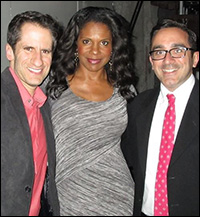 Seth with Audra McDonald and Mark Cortale