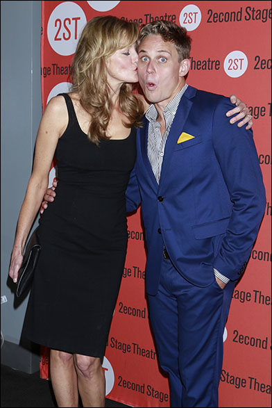 Anna Gunn and Billy Magnussen