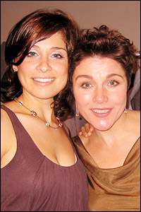 Elena Shaddow and Christine Andreas