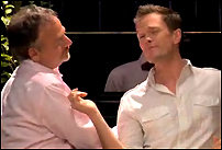 Marc Shaiman and Neil Patrick Harris in <I>Prop 8