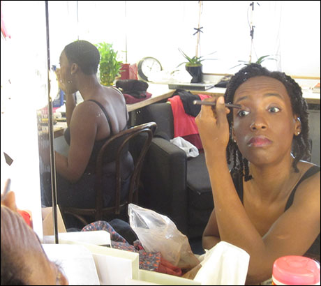 I share it with our phenomenal cellist Tahirah Whittingham, my beautiful friend in the back, Carolyn Michelle Smith…