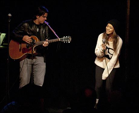 Matt Gumley and Laurissa Romain