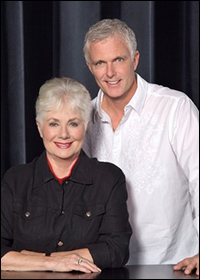 Shirley Jones and Patrick Cassidy