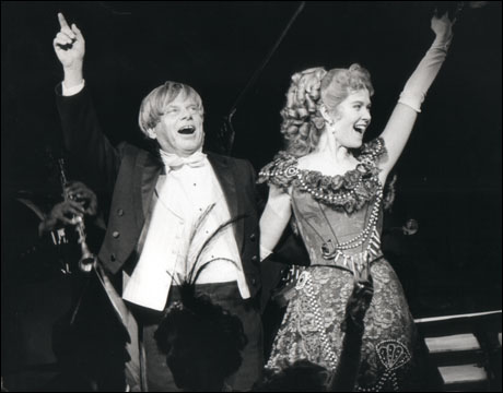 Robert Morse and Rebecca Luker in Show Boat