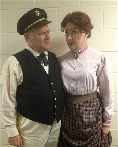 Wait- do I know you?! It's Joel Blum and Dottie Stanley, who payed Frank and Ellie in the Hal Prince Revival of Show Boat!