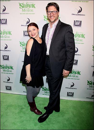Rachel Stern and Christopher Sieber
