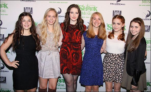 Maya Goldman, Tessa Albertson, Marissa O'Donnell, Leah Greenhaus, Rozi Baker and Rachel Resheff