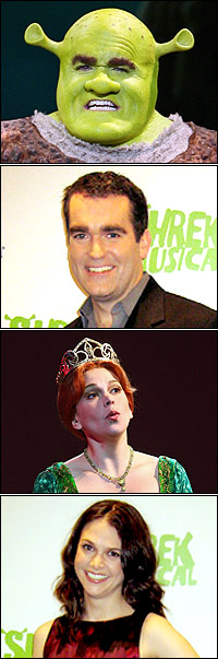 <I>Shrek</I> stars Brian d'Arcy James and Sutton Foster