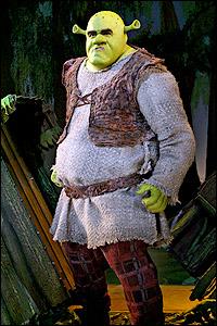 Brian d'Arcy James in Broadway's <I>Shrek</I>