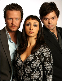 <I>Kiss</I> stars Will Chase, Natascia Diaz and Hunter Foster.
