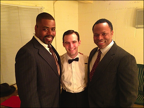 Dapper men Bernard Dotson, Joseph Medeiros and Gavin Gregory.