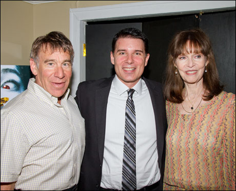 Stephen Schwartz, Rich Affannato and Barbara Feldon