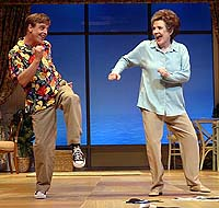 Mark Hamill and Polly Bergen in <i>Six Dance Lessons in Six Weeks</i>