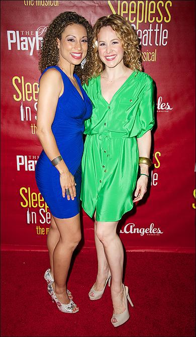 Sabrina Sloan and Chandra Lee Schwartz