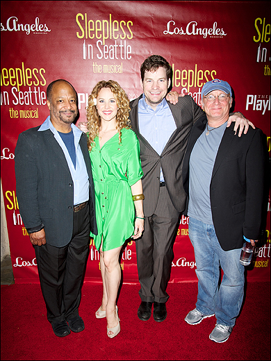 Sheldon Epps, Chandra Lee Schwartz, Tim Gleason and Jeff Arch