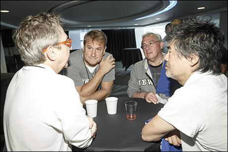 Thomas Schumacher, Jeff Calhoun and David Henry Hwang