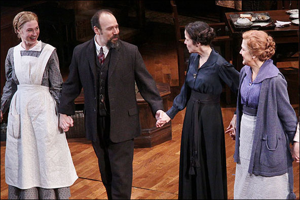 Jessica Love, Danny Burstein, Mary-Louise Parker and Victoria Clark