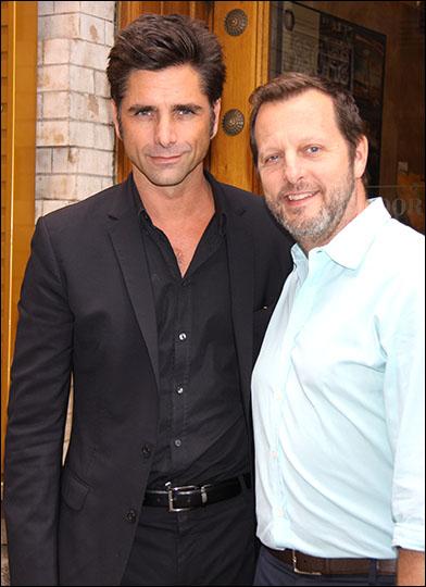 John Stamos and Rob Ashford