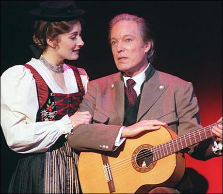 Laura Benanti and Richard Chamberlain in The Sound of Music