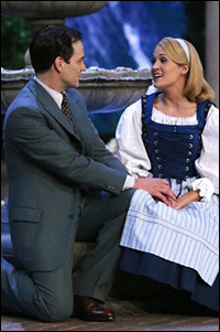 Stephen Moyer and Carrie Underwood in <i>The Sound of Music Live!</i>