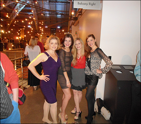 Legs and Lady Business (Leslie Becker, Lizzie Klemperer, Amanda Yesnowitz, Meggie Cansler)