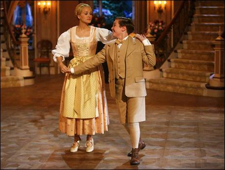 Carrie Underwood as Maria, Joe West as Kurt