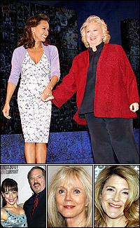 <i>Sondheim on Sondheim</i> stars Vanessa Williams with Barbara Cook, Leslie Kritzer with Tom Wopat; and guests Blythe Danner and Victoria Clark