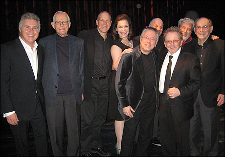 Steve Tyrell, Alan Bergman, David Zippel, Lindsay Mendez, Alan Menken, Charles Fox, Paul Williams, Tony Walton and Hal David