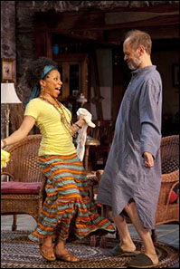 Shalita Grant and David Hyde Pierce