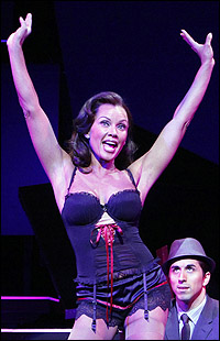 <I>Sondheim on Sondheim</I> star Vanessa Williams with Matthew Scott