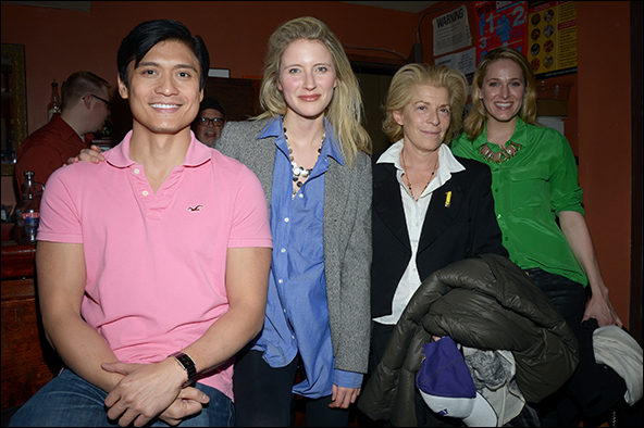 Paolo Montalban, Elisabeth Gray, Suzanne Bertish, Kate Cullen Roberts