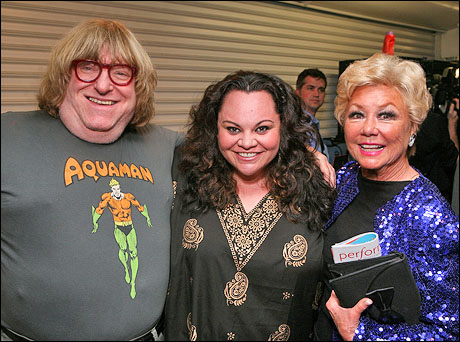 Bruce Vilanch, Keala Settle and Mitzi Gaynor