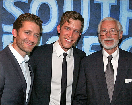 Matthew Morrison (Lt. Cable on Broadway), Anderson Davis (Lt. Cable on tour) and John Kerr (Lt. Cable in the film)