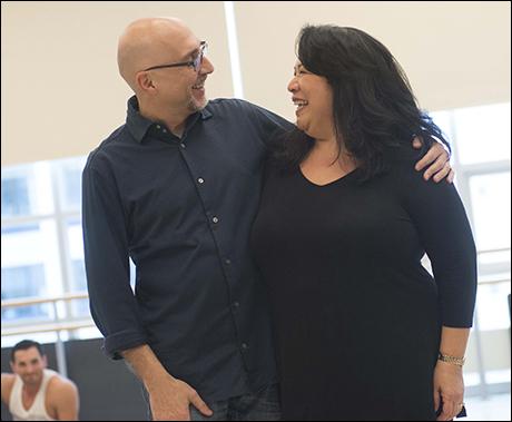 Rob Ruggiero and Loretta Ables Sayre
