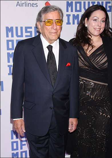 Tony Bennett and Joanna Benedetto
