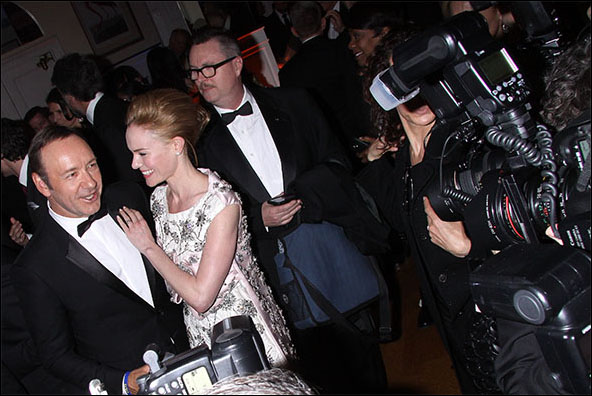 Kevin Spacey and Kate Bosworth