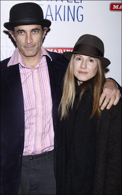 Gordon MacDonald and Holly Hunter