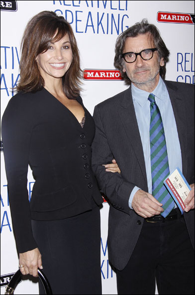 Gina Gershon and Griffin Dunne
