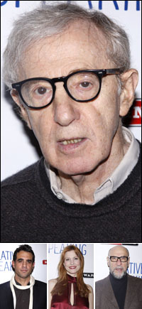 Woody Allen; guests Bobby Cannavale, Rachel York and F. Murray Abraham