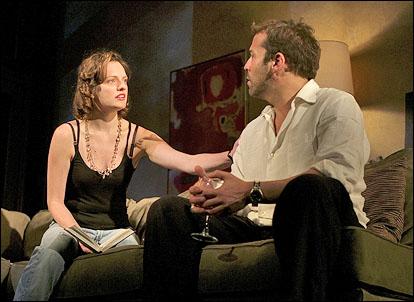 Elisabeth Moss and Jeremy Piven