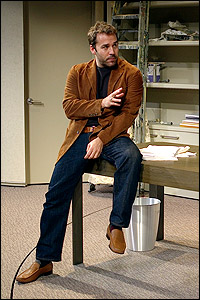 Jeremy Piven in <I>Speed-the-Plow</I>.